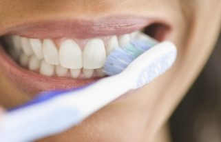 Dr. Russell Borth recommends regular brushing of your teeth and flossing.